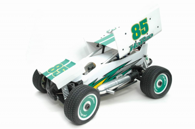 Hyper 8 Sprint Nitro Car RTR White/Gree