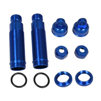 GV 33B530BL REAR SHOCK BODY SET L=53X3.5MM - BLUE