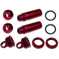 GV 33B530R REAR SHOCK BODY SET L=53X3.5MM - RED