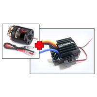 "Electric Motor ""Thrust B-Spec"" 55T + 1:10 Brushed ESC 40A"