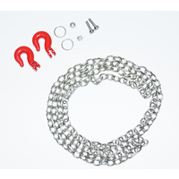 Absima Steel chain and hook set 1:10