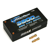 #7.4v 3800mah 25C Shorty WolfPack