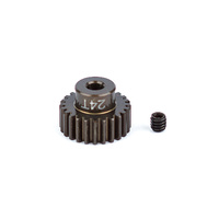 FT Aluminum Pinion Gear, 24T 48P, 1/8 shaft