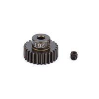 FT Aluminum Pinion Gear, 26T 48P, 1/8 shaft