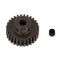 FT Aluminum Pinion Gear, 28T 48P, 1/8 shaft