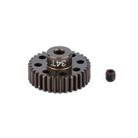 FT Aluminum Pinion Gear, 34T 48P, 1/8 shaft
