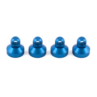 Shock End Cap, blue anodised