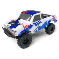 Enduro24 Crawler RTR, Sendero Trail Truck, red and blue