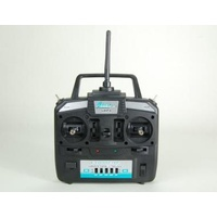 ARES 6HPA 6-CHANNEL HP AIRPLANE TRANSMITTER. MODE 1: GAMMA 370/PRO. P-51D M