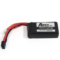 ARES AZSB10003S20D 1000MAH 3-CELL/2S 11.1V 20C LIPO BATTERY. DEANS STYLE CO