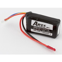 ARES AZSB6003S20J 600MAH 3-CELL/3S 11.IV 20C LIPO BATTERY. JST CONNECTOR: P