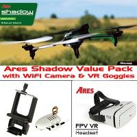ARES AZSQ1800 SHADOW (MODE 1) PACK WITH WIFI CAMERA & VR GOGGLES