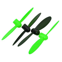 ARES AZSQ3051 NEON X PLUS PROPS: GREEN (2pcs BLACK & 2pcs GREEN)