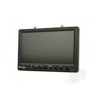 ARES AZSZ1021 7 INCH HD AUTO-SCAN MONITOR 32CH 5.8GHZ RECEIVER W/ DIVERSITY