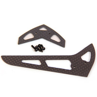 ARES AZSZ2338CF CARBON FIBER TAIL STABILIZER/FIN SET: OPTIM 300 CP