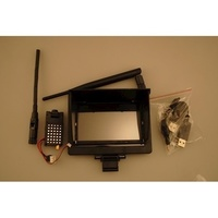ARES AZSZ2542 720P HD FPV SYSTEM:  CAMERA SCREEN & SHIELD:  ETHOS HD/FPV