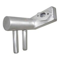 OS 120 2 stroke Inverted Pitts Style wrap-around muffler