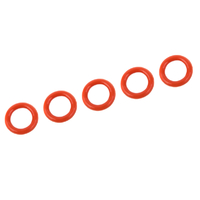 O-Ring - Silicone - 5x8mm - 5 pcs