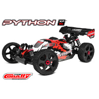 Team Corally - 2021 version PYTHON XP 6S - 1/8 Buggy EP - RTR - Brushless Power 6S - No Battery - No Charger