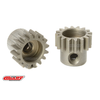 Team Corally - M0.6 Pinion - Short - Hardened Steel - 16 Teeth - Shaft Dia. 3.17mm