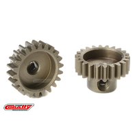 Team Corally - M0.6 Pinion - Short - Hardened Steel - 22 Teeth - Shaft Dia. 3.17mm