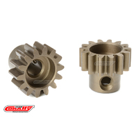 Team Corally - M1.0 Pinion - Short - Hardened Steel - 14 Teeth - Shaft Dia. 5mm