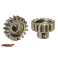 Team Corally - M1.0 Pinion - Short - Hardened Steel - 17 Teeth - Shaft Dia. 5mm