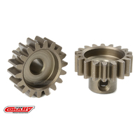 Team Corally - M1.0 Pinion - Short - Hardened Steel - 18 Teeth - Shaft Dia. 5mm