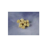 Triple Block, 5mm Natural (10)