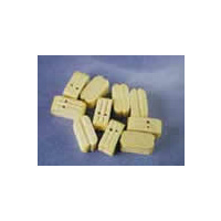 Double Block, 10mm Natural (10)