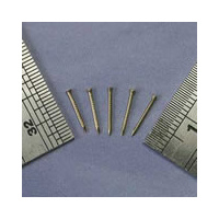 Brass Flat Head Pin 0.7 x 10mm