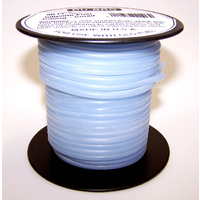 DUBRO 196 BLUE SILICONE TUBING, SMALL (50FT SPOOL)