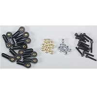 DUBRO 2320 3MM MONSTER LINKS (12 PCS PER PACK)