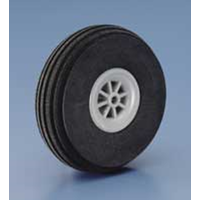DUBRO 250SL 2-1/2in SUPER LITE WHEELS (64MM)  (1 PAIR PER CARD)