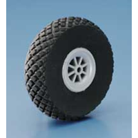 DUBRO 275DL 2-3/4in DIAMOND LITE WHEELS (70MM)  (1 PAIR PER CARD)