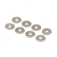 DUBRO 3109 SS NO. 4 FLAT WASHER (8 PCS PER PACK)