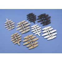 DUBRO 670 SUPER SERVO ARMS/FUTABA (8 PCS PER PACK)