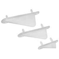 DUBRO 991 2in WING TIP/TAIL SKID (2/PKG.)