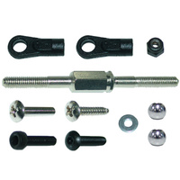 GV DR1302 STEERING SERVO ROD SET 3X46MM