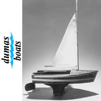 DUMAS 1007 SAILBOAT 12 INCH KIT FOR JUNIOR MODELLER
