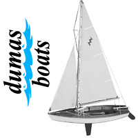DUMAS 1110 LIGHTNING  19 INCH SAILBOAT KIT