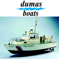 DUMAS 1214 US COAST GUARD 41' UTILITY BOAT  31 INCH KIT