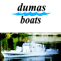 DUMAS 1218 U.S.S. CROCKETT  51 INCH KIT