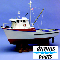 DUMAS 1231 THE JOLLY JAY (FISHING TRAWLER)  24 INCH KIT