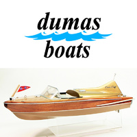 DUMAS 1232 CHRIS-CRAFT COBRA  27 INCH KIT