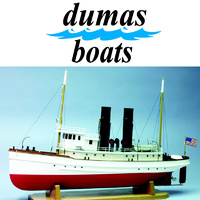 DUMAS 1251 THE LACKAWANNA TUG  33 INCH KIT
