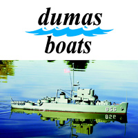 DUMAS 1252 THE USS WHITEHALL A 180 PATROL CRAFT 23 INCH KIT