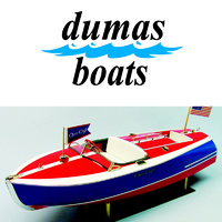 DUMAS 1263 16' CHRIS CRAFT PAINTED RACER  KIT