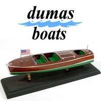 DUMAS 1703 CHRIS-CRAFT TRIPLE.COCKPIT BARREL BACK 27 INCH  KIT