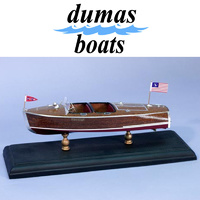DUMAS 1705 CHRIS-CRAFT BARREL BACK   9 1/2 INCH KIT